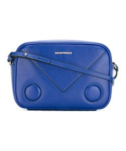 Emporio Armani | Logo Print Cross Body Bag Calf Leather