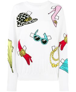 Moschino | Sticker Intarsia Jumper Large
