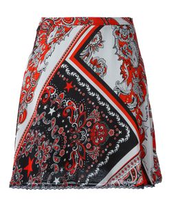 Just Cavalli | Paisley Patterned Skirt 46 Viscose