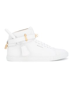 Buscemi | Padlock Detail Hi-Tops 42 Calf Leather/Rubber/Leather