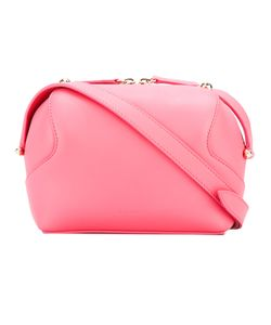 Delpozo   Double Zip Crossbody Bag Calf Leather