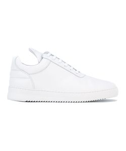 Filling Pieces | Elongated Tongue Sneakers Size 45