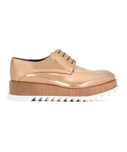Jil Sander | Platform Lace-Up Shoes 36 Leather/Rubber