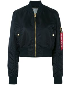 Alpha Industries | Cropped Bomber Jacket