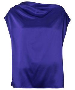 Lanvin | Блуза На Одно Плечо С Открытой Спинкой