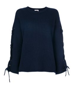 See By Chloe | Laced Sleeve Sweater