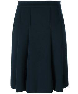 'S Max Mara | Max Mara Wide Pleat Knee-Length Skirt