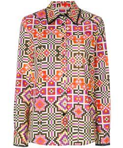 Miahatami   Pixel Print Shirt