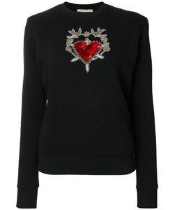 Amen | Embellished Heart And Dagger Sweatshirt Women