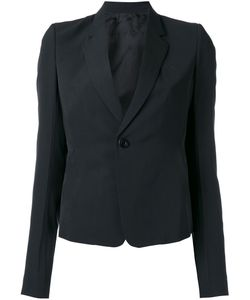 Rick Owens | One Button Blazer 48 Cupro/Viscose/Virgin Wool