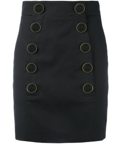Dolce & Gabbana | Buttoned Mini Skirt