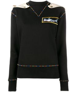 J.W. Anderson | J.W.Anderson Shark Applique Sweatshirt Large Cotton/Rayon/Viscose
