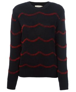 Maison Kitsune | Maison Kitsuné Hand Embroidered Jumper Medium