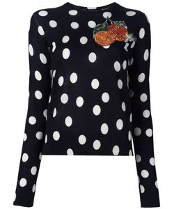 Dolce & Gabbana | Patch Jumper 46 Silk