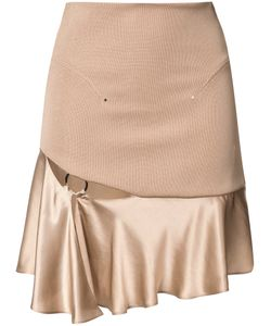 ESTEBAN CORTAZAR | Ruffled Hem Skirt 38