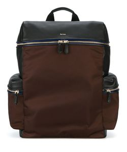 Paul Smith Jeans | Side Pockets Structured Backpack