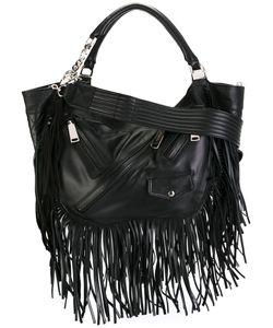 Dsquared2 | Fringed Hobo Bag Cotton