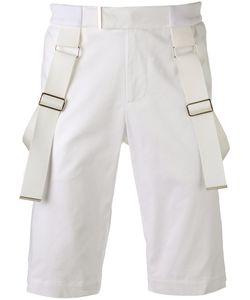 Les Hommes | Strap Detail Shorts Size 52