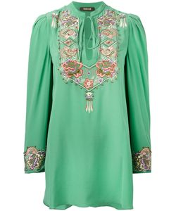 Roberto Cavalli | Embroidered Blouse Size 46