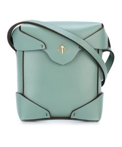 Manu Atelier | Micro Pristine Crossbody Bag Leather