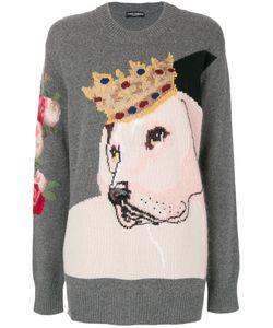 Dolce & Gabbana   Свитер С Королевской Собакой
