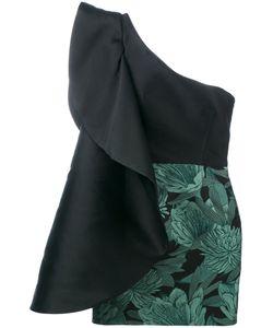 Christian Pellizzari   Single Shoulder Mini Dress