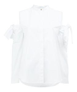 Maison Rabih Kayrouz | Cut-Out Sleeve Shirt 36 Cotton