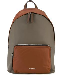Burberry | House Check Strap Backpack Nylon/Leather