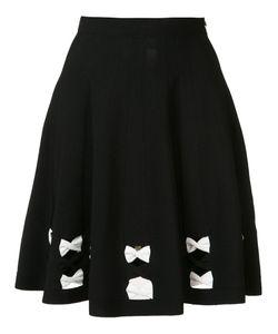 Alexander McQueen | A-Line Bow Skirt Xs Viscose/Polyester