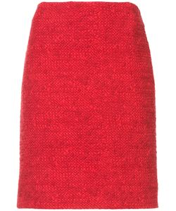 Akris Punto | Bouclé-Tweed Skirt Women 4