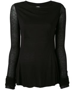 Rick Owens Lilies | Backless Long Sleeve T-Shirt
