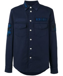 Valentino | Military Patch Shirt Size 48