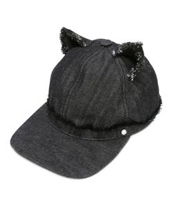 Karl Lagerfeld | Cat Ears Denim Cap Size Medium