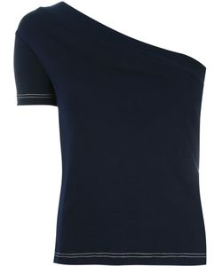 JACQUEMUS | One Shoulder Top 40 Cotton