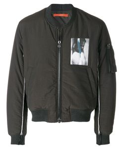 Komakino | Zipped Bomber Jacket Men L