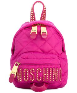 Moschino | Mini Studded Backpack Polyamide/Leather