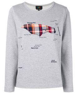 A.P.C. | A.P.C. Map Appliqué Sweatshirt S