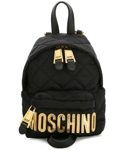 Moschino | Mini Quilted Backpack Polyamide/Leather/Metal Other