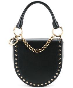 Sacai | Studded Half Moon Shoulder Bag