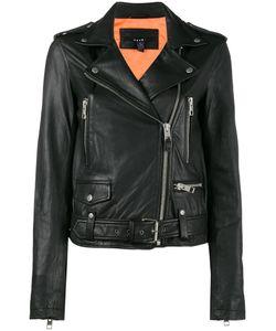 Ksubi | Bad Company Leather Biker Jacket Women Polyester/Lamb