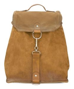 Maison Margiela | Clip Fastening Backpack Calf Suede/Cotton/Calf Leather
