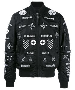 MARCELO BURLON COUNTY OF MILAN | Roldan Bomber Jacket Small