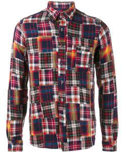 Sophnet. | Patchwork Flannel Shirt Xl Cotton