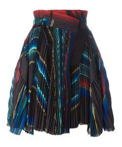 Sacai   Micro Pleated Wrap Skirt Size