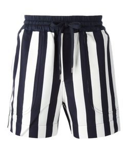 Andrea Pompilio | Striped Drawstring Shorts Size 50