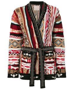 Laneus | Embellished Intarsia-Knit Cardigan 44