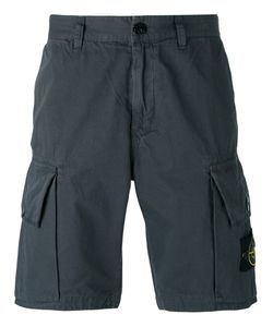 Stone Island | Logo Patch Cargo Shorts