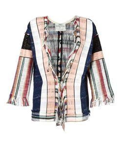 Forte Forte | Woven Stripe Jacket 0 Cotton/Polyamide/Spandex/Elastane