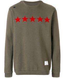 The Editor   Star Printed Sweatshirt Men