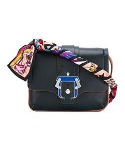 Paula Cademartori | Gigi Shoulder Bag Silk/Leather